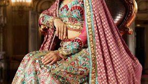 صورة ازياء فساتين هندية 2019 , ملابس هندي جميلة , اطلاله ليس لها مثيل