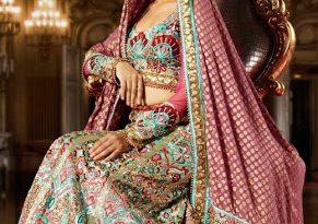 صورة ازياء فساتين هندية 2020 , ملابس هندي جميلة , اطلاله ليس لها مثيل