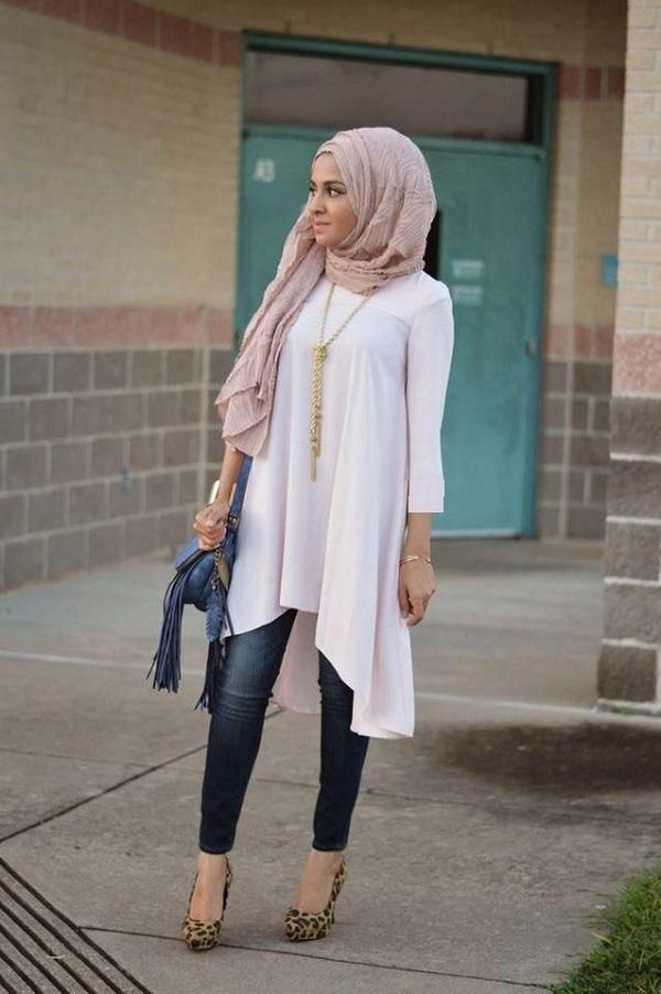 بالصور افضل و اخر عدد من مجلة حجاب فاشون 2019 , موديلات شيك واستيل رائع 41 19